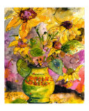 Sunflowers In Pottery from Provence