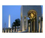 World War II Memeorial at Night