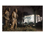 Three Service Men - Vietnam Veterans Memeorial