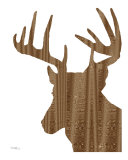 Wood Grain Deer
