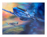 P-51 Mustang snd Me-109