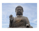 Tian Tan Buddha on Lantau Island  Hong Kong