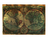 Navigational Sailors map 1548