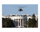 White House with Air Force One