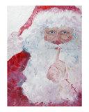 """Santa:  """"Shhh!"""""""