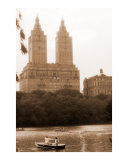 Towers over The Lake in Central Park - New York