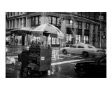 Rain Falls at Broadway and Broome - New York