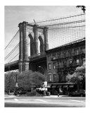 Brooklyn Bridge and Gray Bldg - Brooklyn  New York