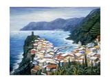 Rooftops of Vernazza  Cinque Terre Italy