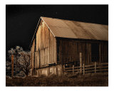 Barn on a Moonlite Night