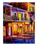 Lights on Bourbon Street