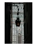 Iron Lantern with Duomo in Background