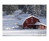 Red Barn Rural Colorado