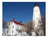 Sandy Hook Lighthouse and Keeper&#39;s House