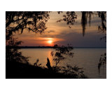 Sunset  Ochlockonee Bay  Florida