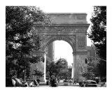 Washington Square Arch  Greenwich Village New York