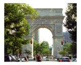 Washington Square Arch  Greenwich Village New York
