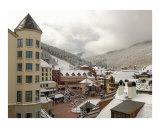Early Snow in Beaver Creek  Colorado