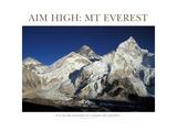 Aim High: Mt Everest