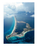 Cancun  Mexico-aerial view