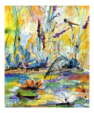 Dragonfly Pond - Lilies & Grasses