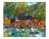 Portofino - Italy - Cinque Terre Painting