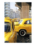 Kolkata cabs (yellow taxis) India