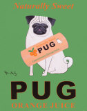 Pug Orange Juice
