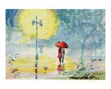 Umbrella Couples - Foggy Day