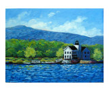 Saugerties Lighthouse on the Hudson River