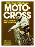 Times Herald Iternational Motocross Poster