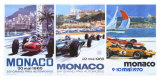 65  66  70 Monaco Grand Prix 3 in 1 Poster