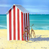 Candy Striped Beach Shack