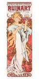 Mucha Champagne Ruinart Poster