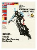 500cc Us Motocross Grand Prix Poster
