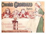 Grondard Chocolate Pudding Poster