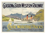 Glasgow Railway Steamship Poster