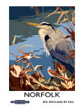 Norfolk  BR Poster  1948-1965