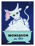 Monsavon Au Lait Poster