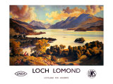 Loch Lomond  LNER and LMS Poster  circa 1940s