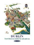 Dublin  BR Poster  1954