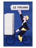 Le Figaro Giclée par Raymond Savignac