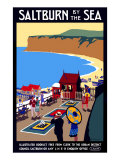 Salturn-By-The-Sea  LNER Poster  1923-1929