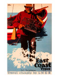 The Lobsterman  LNER Poster  1923-1947