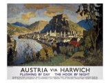 Austria Via Harwich