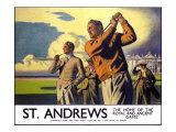 St Andrews  LNER Poster  1933