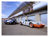 1964 Shelby Daytona Coupe & 1969 Ford GT-40