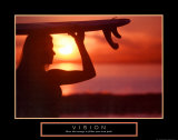 Vision: Female Surfer
