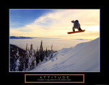 Attitude: Snow Boarder