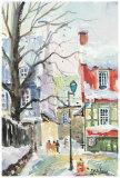 L'Hiver Rue du Tresor